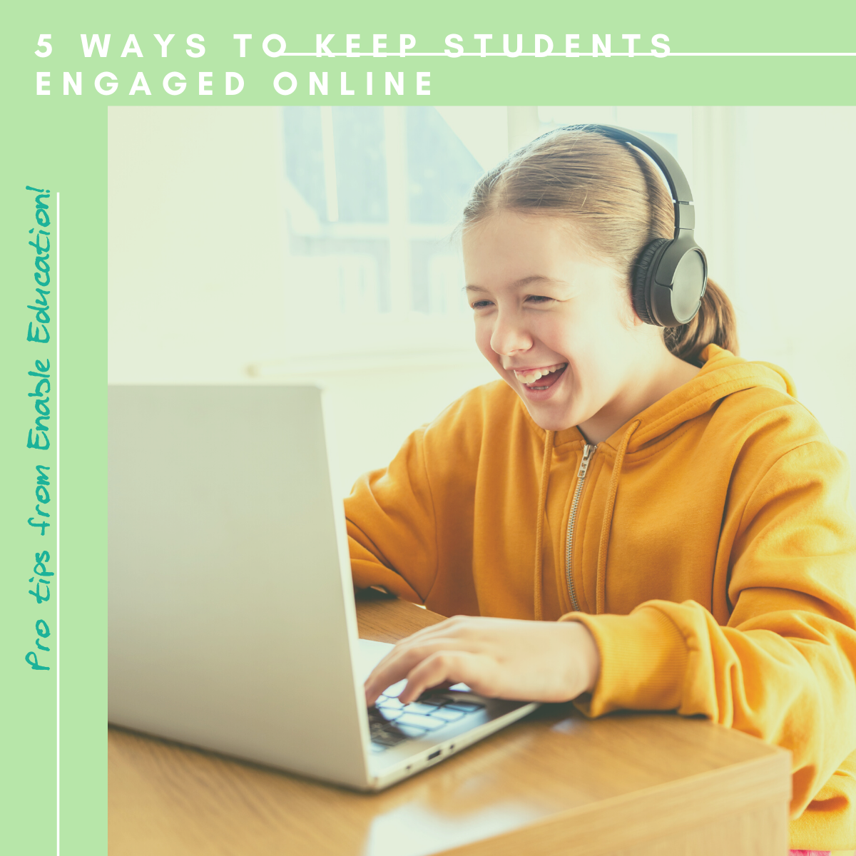 5 ways to keep students engaged online